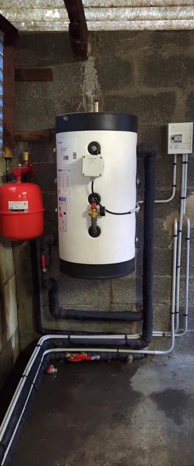 Installation d'une pompe à chaleur Viessmann monobloc avec ballon thermodynamique !