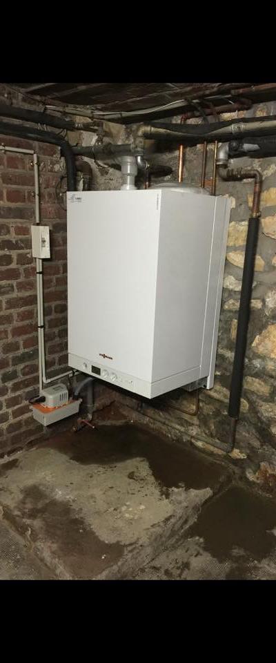 Installation chaudière gaz à condensation Vitor