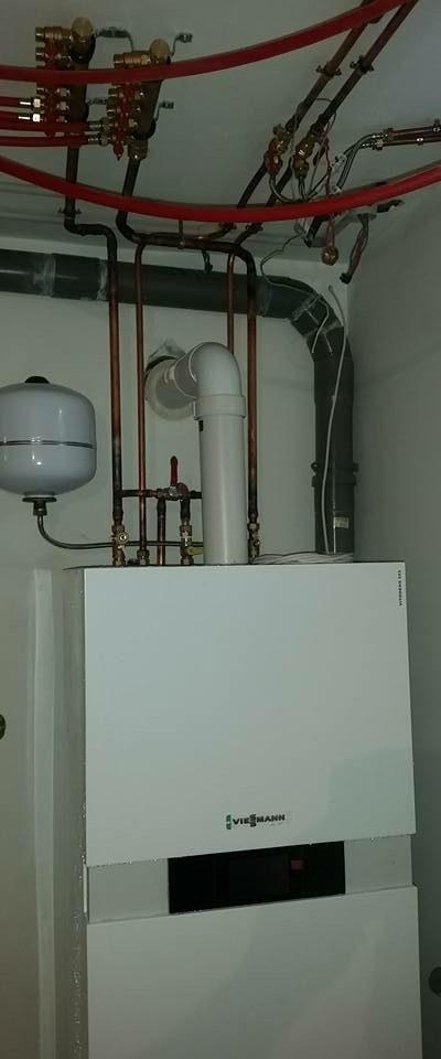 Installation d'une pompe à chaleur Viessmann
