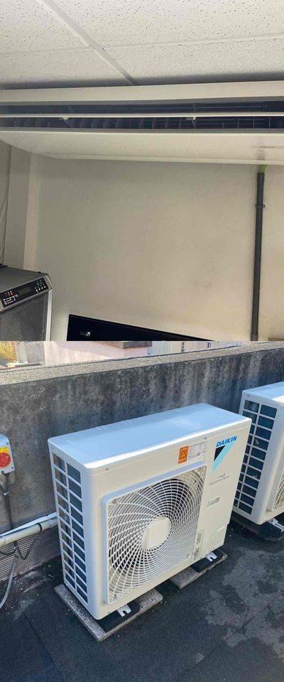 Climatisation salle serveur informatique pour la ville d'Enghien-Les-Bains
